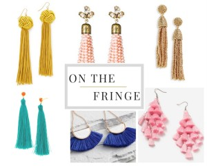 On the Fringe with Tassel Earrings
